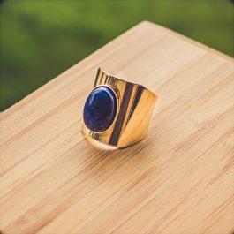 bague mia lapis lazuli