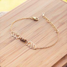 bracelet houma doré