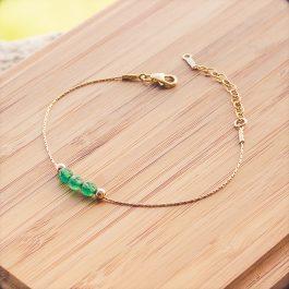 bracelet mia doré aventurine
