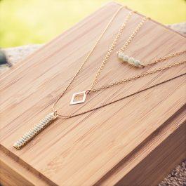 collier mila doré